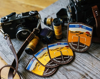 Explore And Capture Embroidered Patch