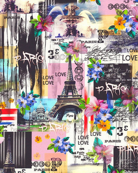 Vibrant Shower Curtain Paris Shower Curtain By