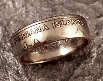 Coin Ring Northern Mariana Islands YOUR SIZE 5 to 10.5 MR0705-TSTNMI