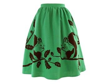 Squirrel Skirt