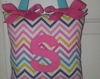 Girls Boutique Custom Monogram Initial Children's Tooth Fairy Pillow