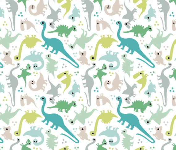 Cute Baby Fabric Prints Of Dinosaur Fabric Cute Baby Boy Pastel Dinosaur Fantasy Custom
