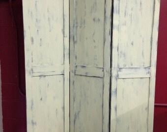 Three Panel Screen Room Divider Reversible