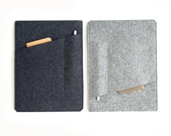 iPad Pro Sleeve with Pockets - Felt