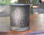 Belmont Silver Plate Cup Small Child's Engraved Mug