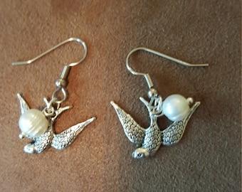 Hunger Games inspired elements earrings
