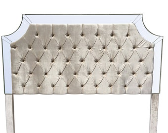 ivory king size headboard tufted upholstered headboard pearl king size velvet headboard tufted headboard king size - Upholstered Headboard King