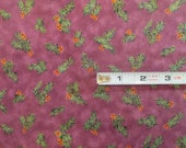 RJR Special Occasions 6017-6 in PURPLE Quilting Fabric  1.5 yards left...this is for end of bolt