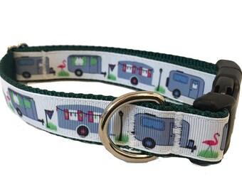"1"" Camper Dog Collar Buckle or Martingale"