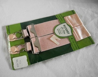 Vintage Hickory So-Ons, garter repair supply, stay flat buttons, A. Stein Co., 1940s, 1950s