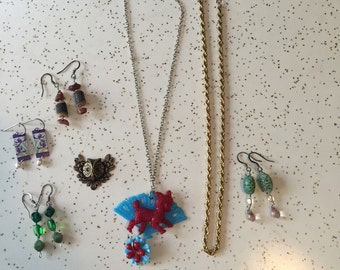 The Charm Box - Instant Collection of Vintage and Handmade Jewelry