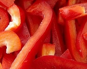 Organic Pimiento Pepper Heirloom Vegetable Seeds