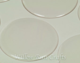 """50 Pack 2"""" Circle Epoxy Domes,  2 inch Circle Resin Stickers, Epoxy Stickers (01-05-192)"""