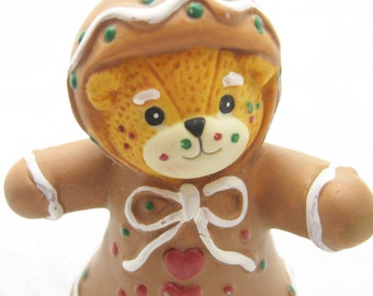 Lucie and Me Gingerbread Bear Figurine Christmas Enesco