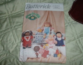Vintage Butterick Cabbage Patch Pattern 6509