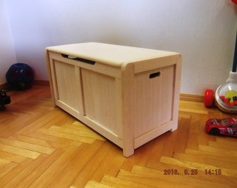 Miniature Unfinished Toy Chest