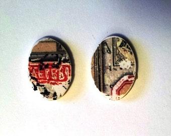 Vintage Label Charms #2.3