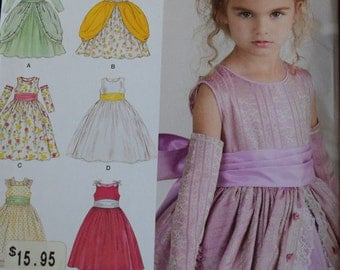 Simplicity 1508 Vintage STYLE Child's Dress in size 4-8 (uncut)