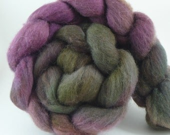 4oz Shetland Combed Top - Twig and Berries