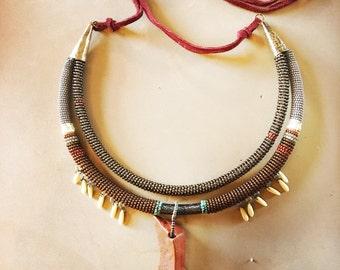 Natural Jasper, Walking Dream Necklace