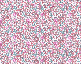 Liberty Tana Lawn Eloise Floral Pink Fabric- Yard