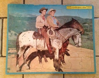 Wild Bill Hickok and Jingles Tray Puzzle by Built-Rite