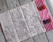 Princess Travel Activity Coloring Mat, A Royal Life Coloring Mat, Easter Basket Stuffer, Eco-Friendly Mat, Washable Coloring Mat, LDM
