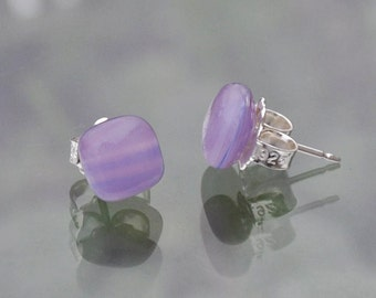 Light Purple stud Earrings