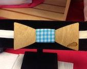 Wood Bow Tie , Derby Bow Tie, Go baby go, neck wear, mens tie