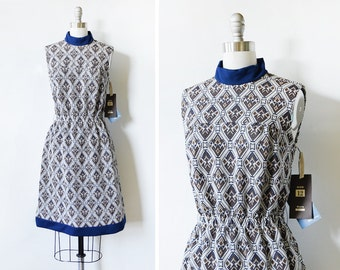 60s mod dress, vintage 1960s mod scooter dress, sleeveless small dress