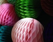 HONEYCOMB BALL 19 INCH / Tissue paper decorations / wedding decorations / party decorations / nursery decorations / honeycomb balls /