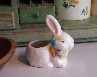 Adorable Bunny ~ Ceramic Planter