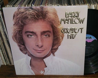 Barry Manilow Greatest Hits Vintage Vinyl Double Album