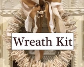 Felted Wool Holiday Wreat Kit