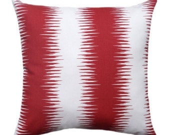 Premier Prints Jiri Carmine Red Decorative Throw Pillow - Free Shipping