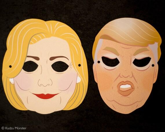 Hillary Clinton Halloween Mask