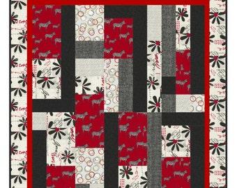 Quilt Pattern - Zanzibar by Little Louise Designs - PDF INSTANT DOWNLOAD
