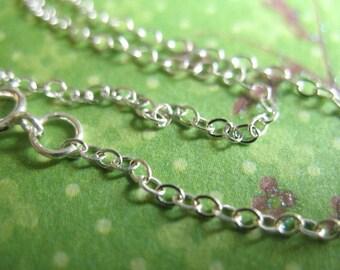Shop Sale,, Wholesale Chain, Silver Necklace CHAIN, Sterling Chain, choose 16 17 18 20 22 24 30 36 inch, Bulk Discount, d66.d d66.