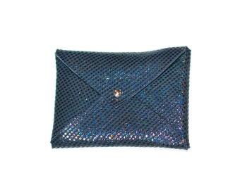 Leather envelope wallet, Business Card Case, Leather Card Case, Business Card Holder, gifts under 20, card holder, gift for boss