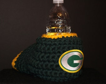 Green Bay Packers Drink Mitt  - The mitten with the drink holder - Makes a great Christmas gift!
