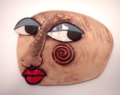 Looking for Love Abstract Mask-Picasso inspired ceramic mask