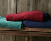 All Three Wool Blankets 56 x 72 One Red One Blue and One Green Vintage From Nowvintage on Etsy