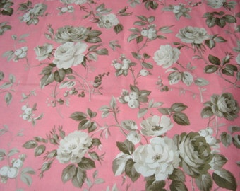 NEW Jardin Gris by Robyn Pandolph Crepe Suzette in Amaryllis one yard