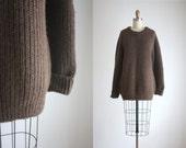alpaca slouchy sweater