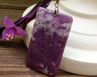 For the Love of Purple Stone Necklace