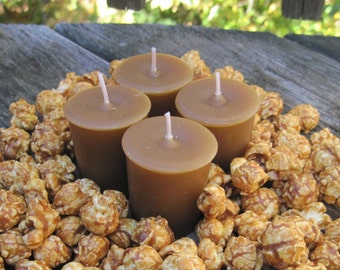 CARAMEL CORN (4 votives or 4-oz soy jar candle)