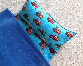 Personalized Nap Mat, Great for daycare, preschool or kindergarten. Padded. Disney Cars