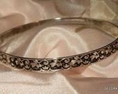 Sterling Silver Ivy Bracelet Bangle P&H