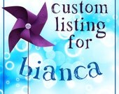 Custom set of curlers RESERVED for BIANCA only