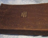 RESERVED for Wes and Chelsea Gorsuch Vintage 1923 Elbert Hubbard's Scrapbook Arts & Craft Movement Roycrofter LEATHER Book